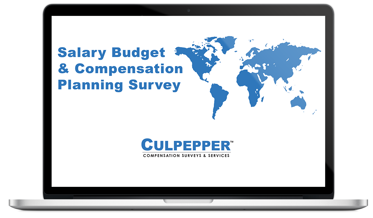 Culpepper Global Salary Budget Survey